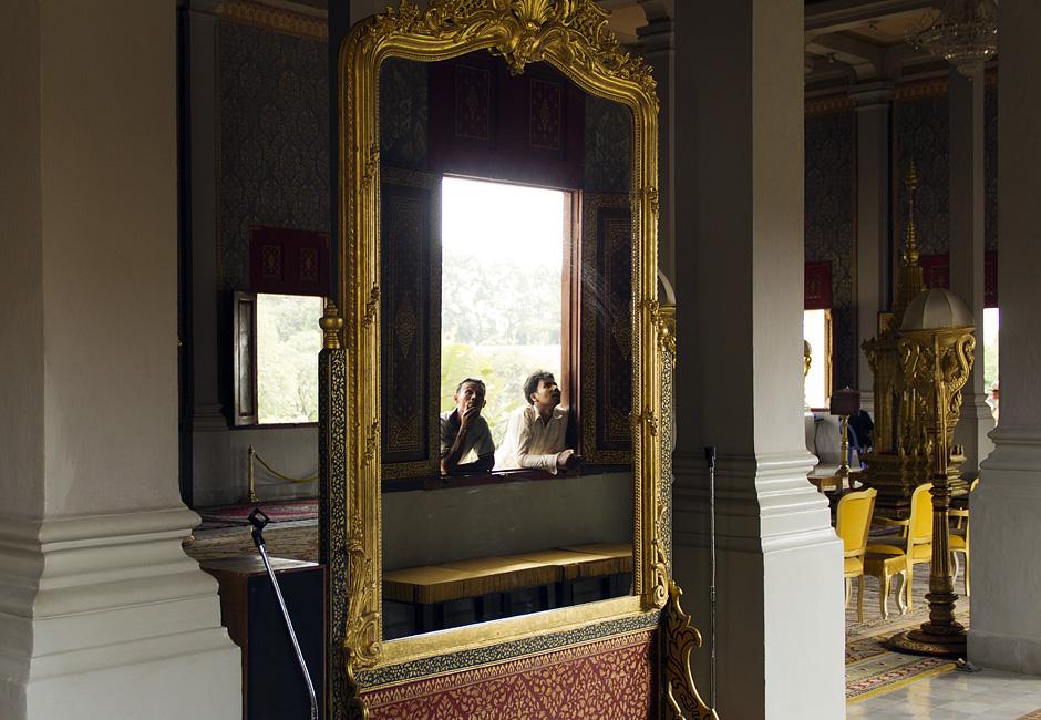 Königspalast, Thronhalle, Spiegel