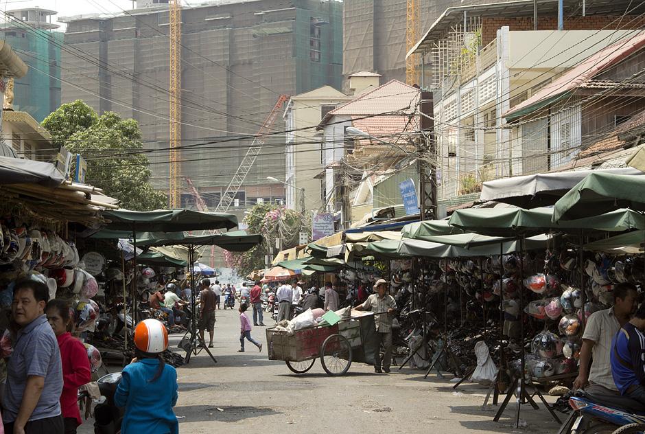Phnom Penh, Nähe Norodom