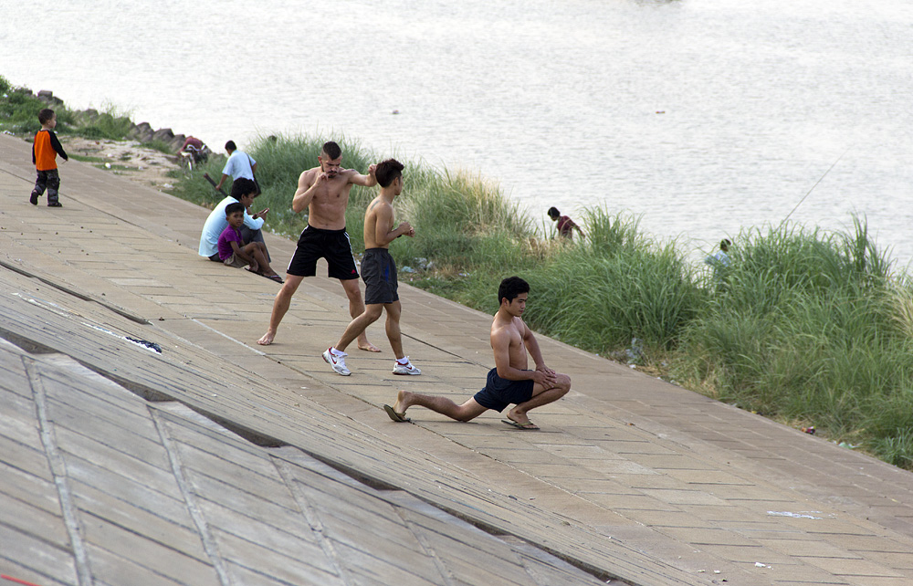 Phnom Penh, Tonle Sap, Sport, Riverfront