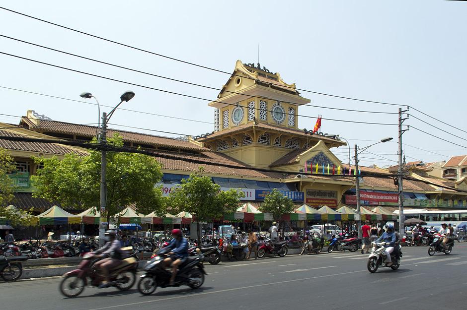 Saigon, Cholon, Bình-Tây-Markt