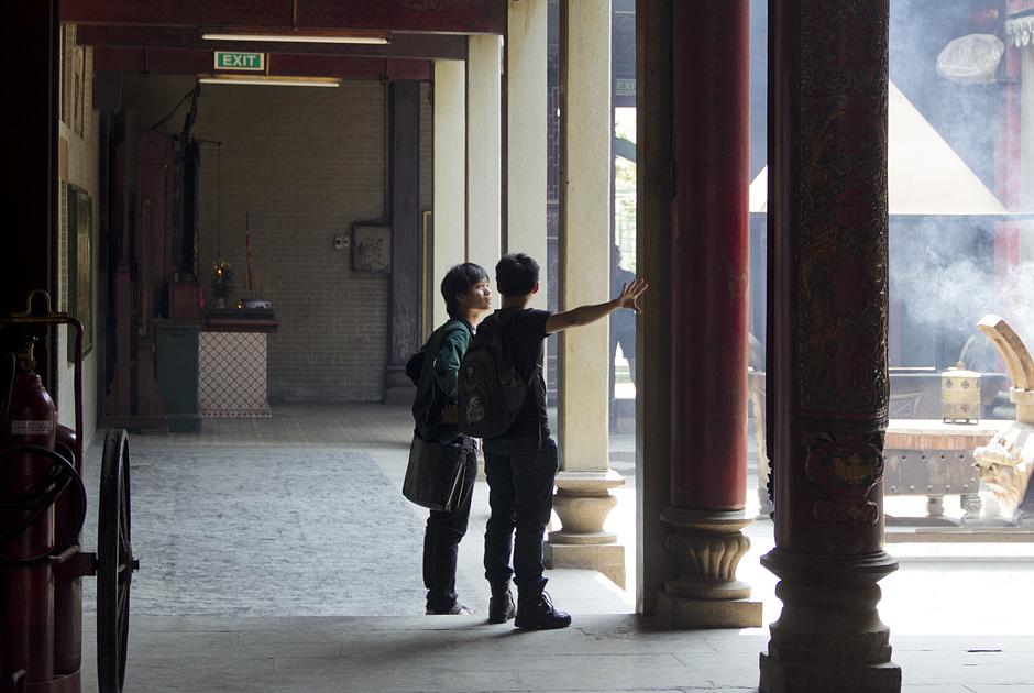 Saigon, Cholon, Chinatown, Chùa Bà Thiên Hậu