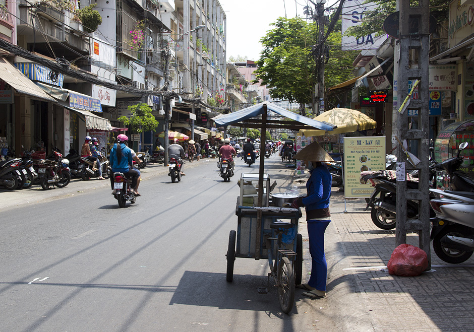 Saigon, Cholon, Chinatown, Nguyen Trai