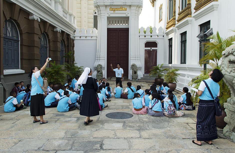 Bangkok, Grand Palace, Chakri Maha Prasat Hall