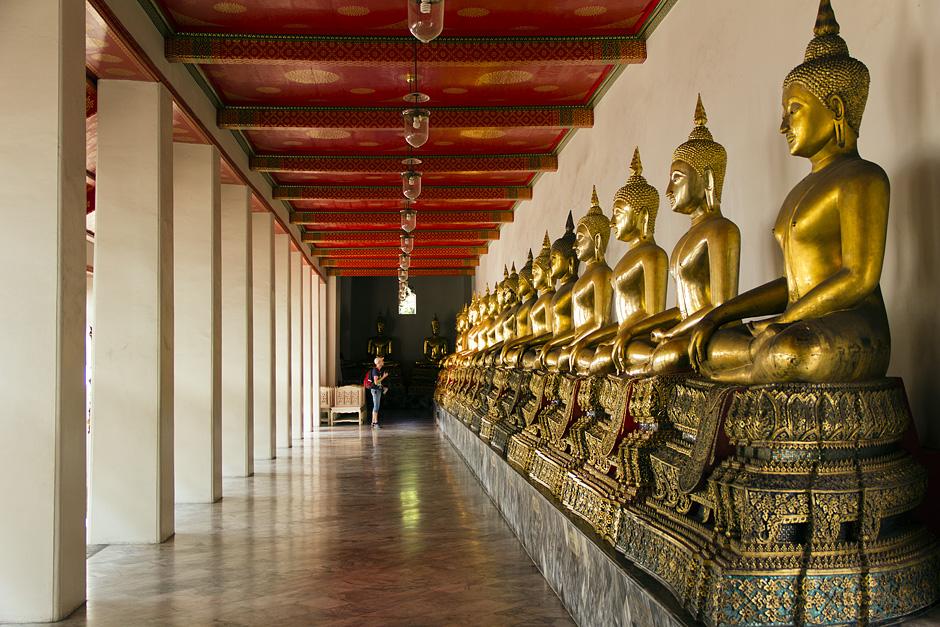 Bangkok, Wat Pho,Buddhas