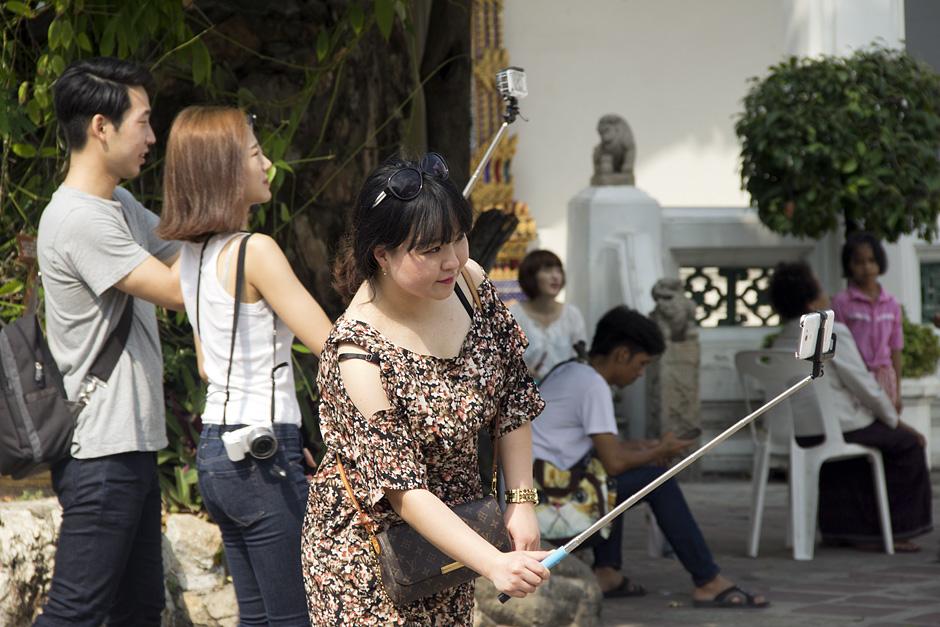 Bangkok, Wat Pho,Selfie Stick