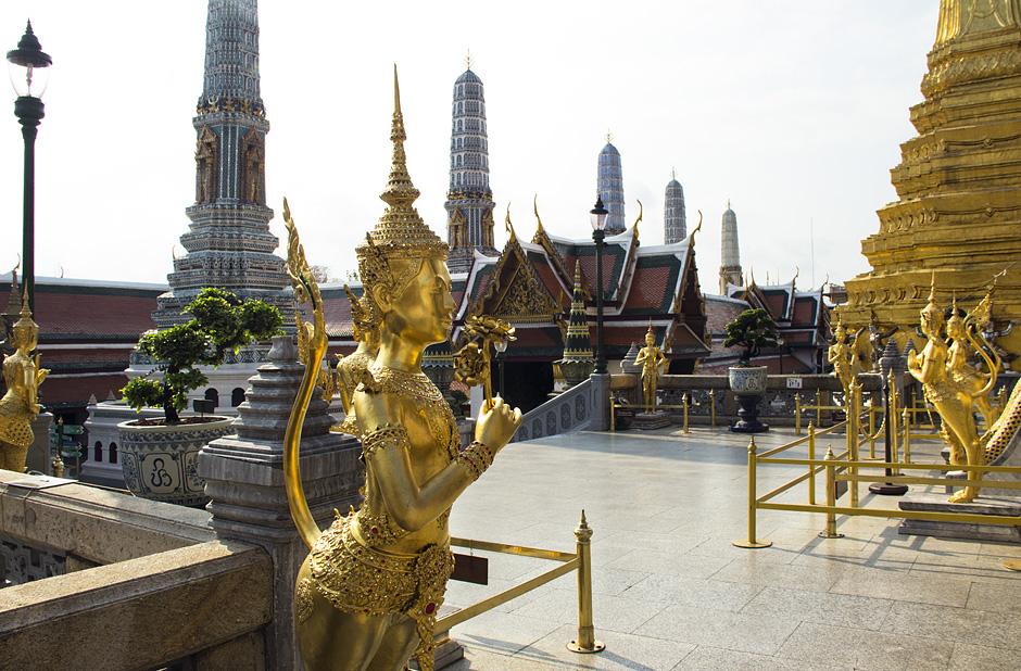 Bangkok, Wat Phra Kaeo, Kinari