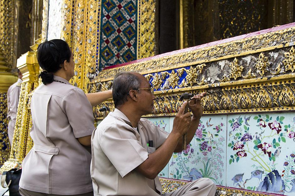 Bangkok, Wat Phra Kaeo, Phra Ubosot