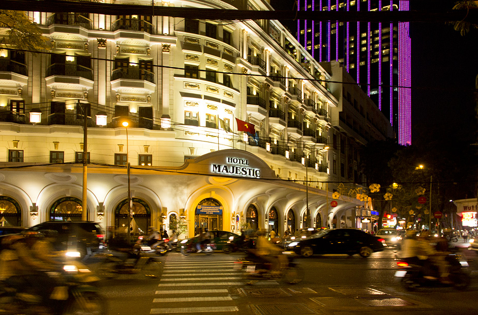 Ho Chi Minh City, District 1, Hotel Majestic