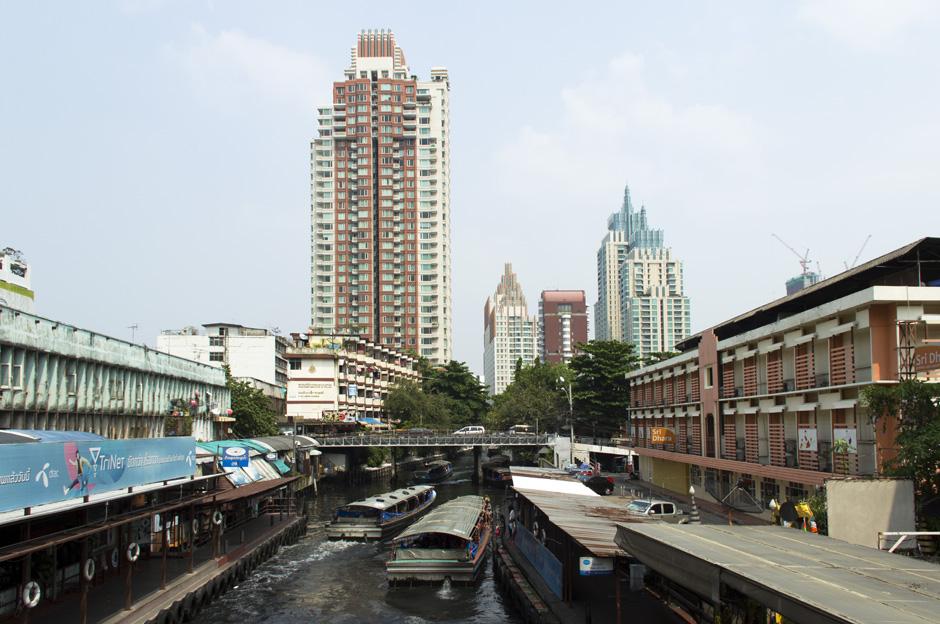 Bangkok, Klong San Sap
