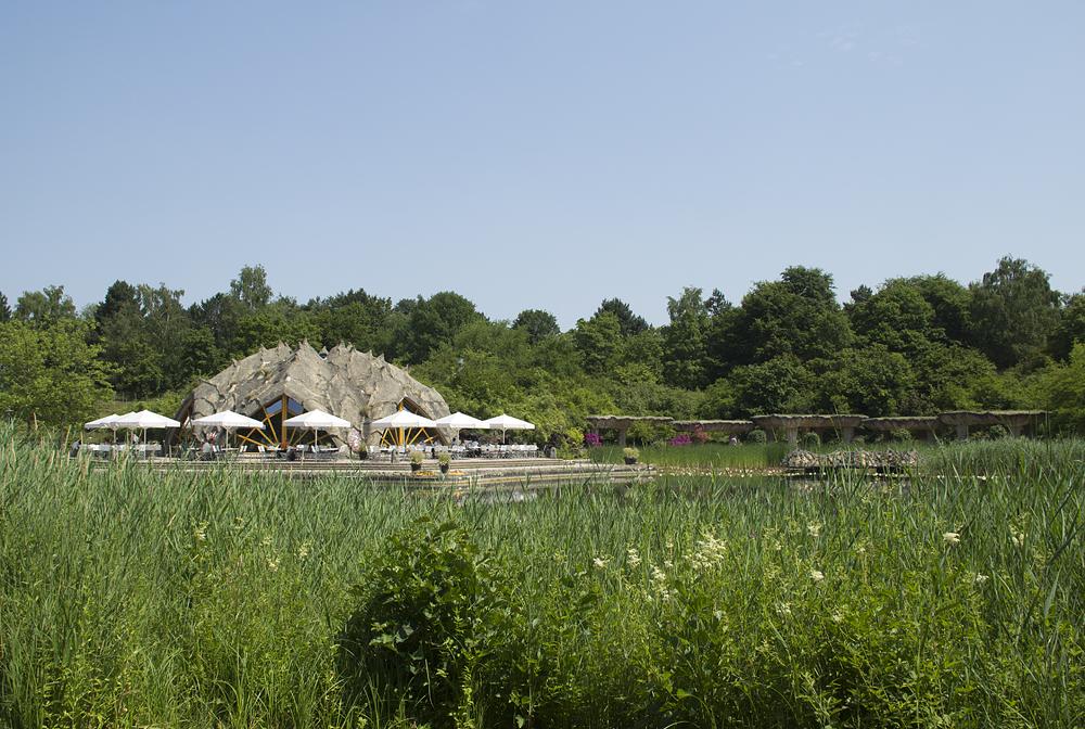 Britzer Garten, Restaurant