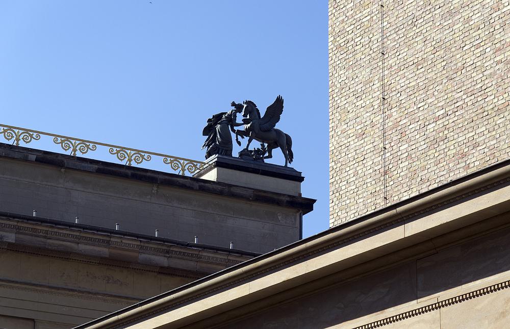 Museumsinsel Berlin, Altes Museum, Pegasus