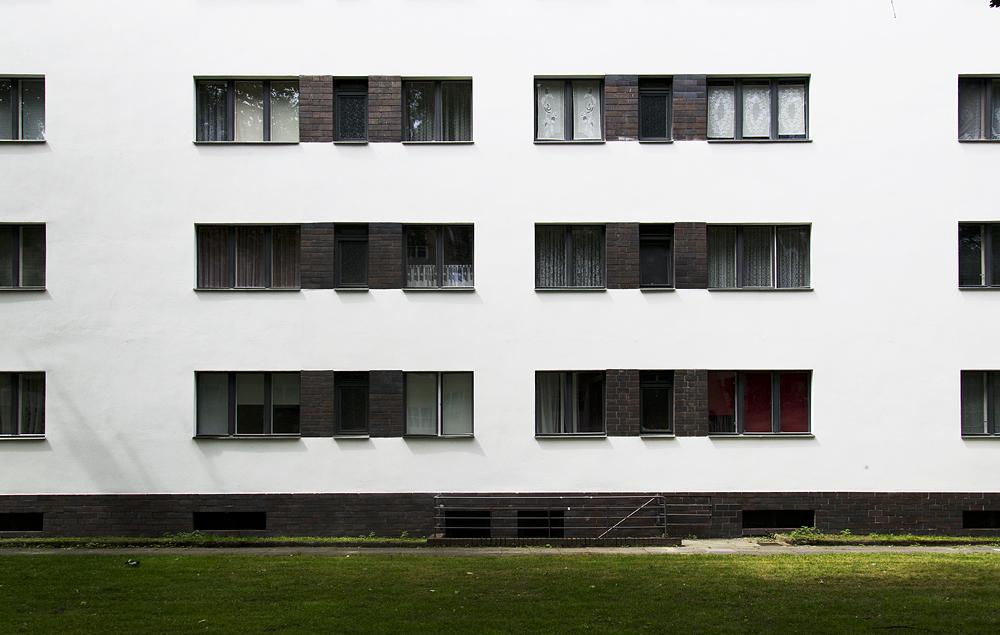 Großssiedling Siemensstadt, Ring-Siedlung, Walter Gropius