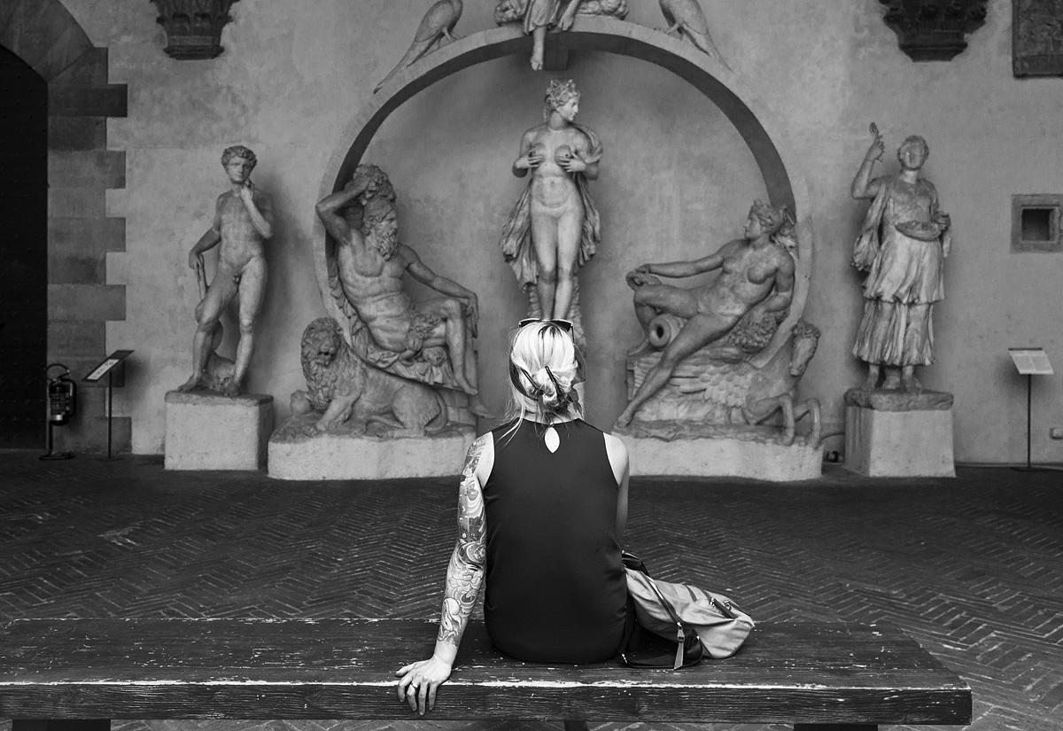 Bargello, Florenz, Fabian Fröhlich, Bartolomea Ammannati, Fontana di Sala Grande