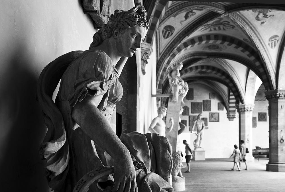 Bargello, Florenz, Fabian Fröhlich, Bartolomeo Ammannati, Juno vom Fontana di Sala Grande