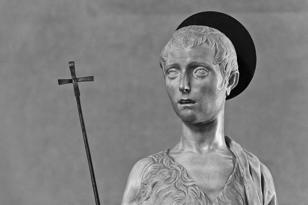 Bargello, Florenz, Fabian Fröhlich, Desiderio de Settignano, Johannes der Täufer