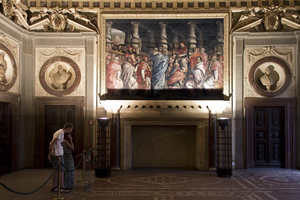 Palazzo Vecchio, Sala di Leo X.