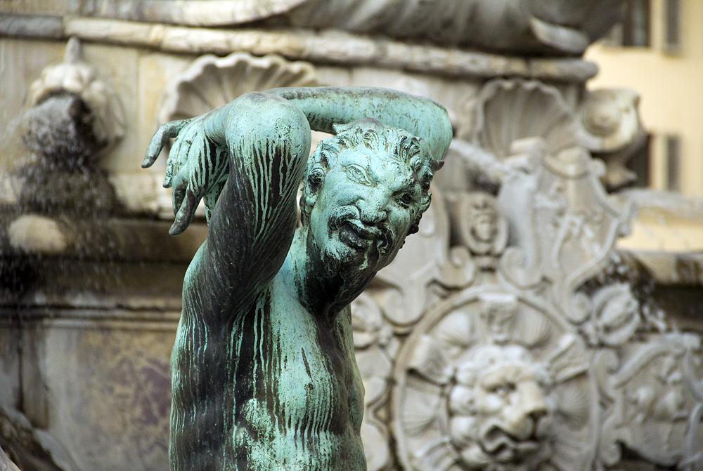 Piazza dell Signoria, Neptunbrunnen von Bartolomeo Ammanati