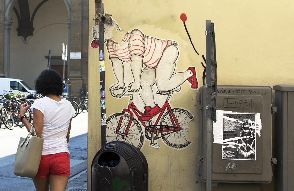 Street Art, Firenze, Hopnn Yuri