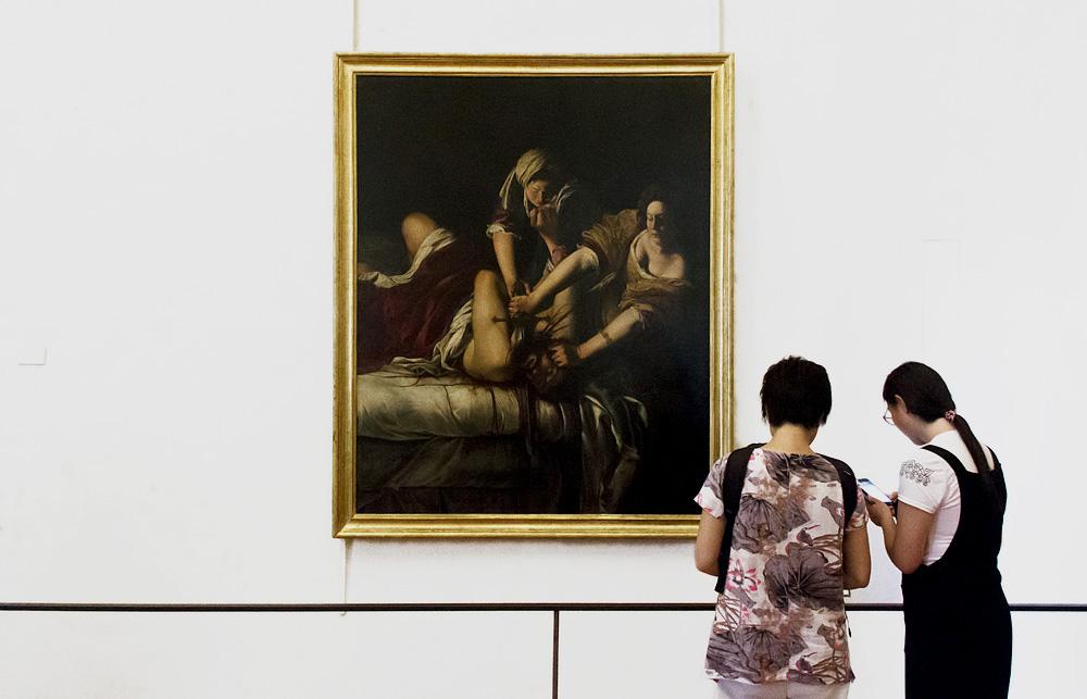 Uffizien, Artemisia Gentileschi, Judith und Holofernes