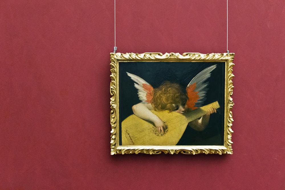 Uffizien, Rosso Fiorentino, Musizierender Engel