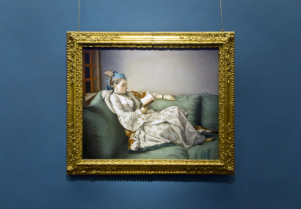 Uffizien, Jean Etienne Liotard, Marie Adelaide von Frankreich