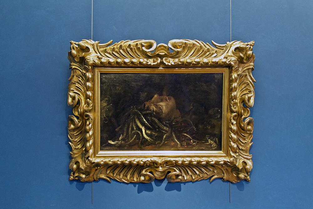 Uffizien, Unbekannter flämischer Maler, Kopf der Medusa
