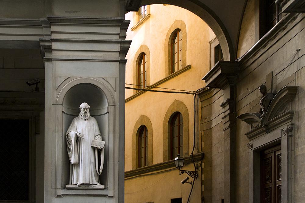 Uffizien, Pietro Aretino