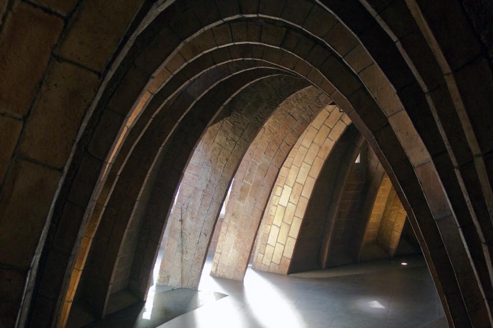 Barcelona, Casa Milà, La Pedrera, Antoni Gaudí, Speicher