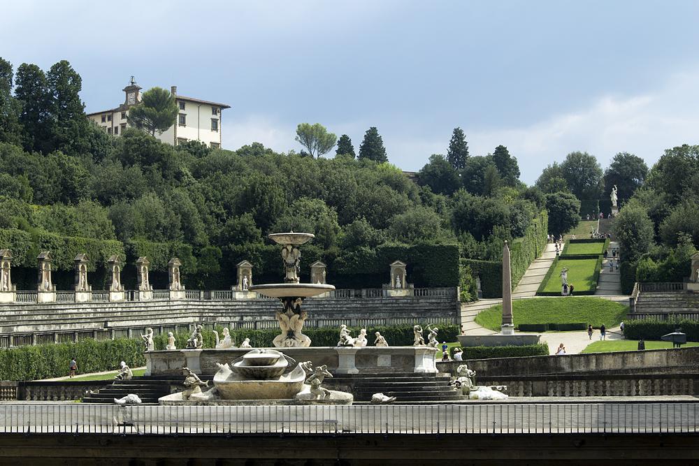 Firenze, Giardino di Boboli, Fontana del Carciofo