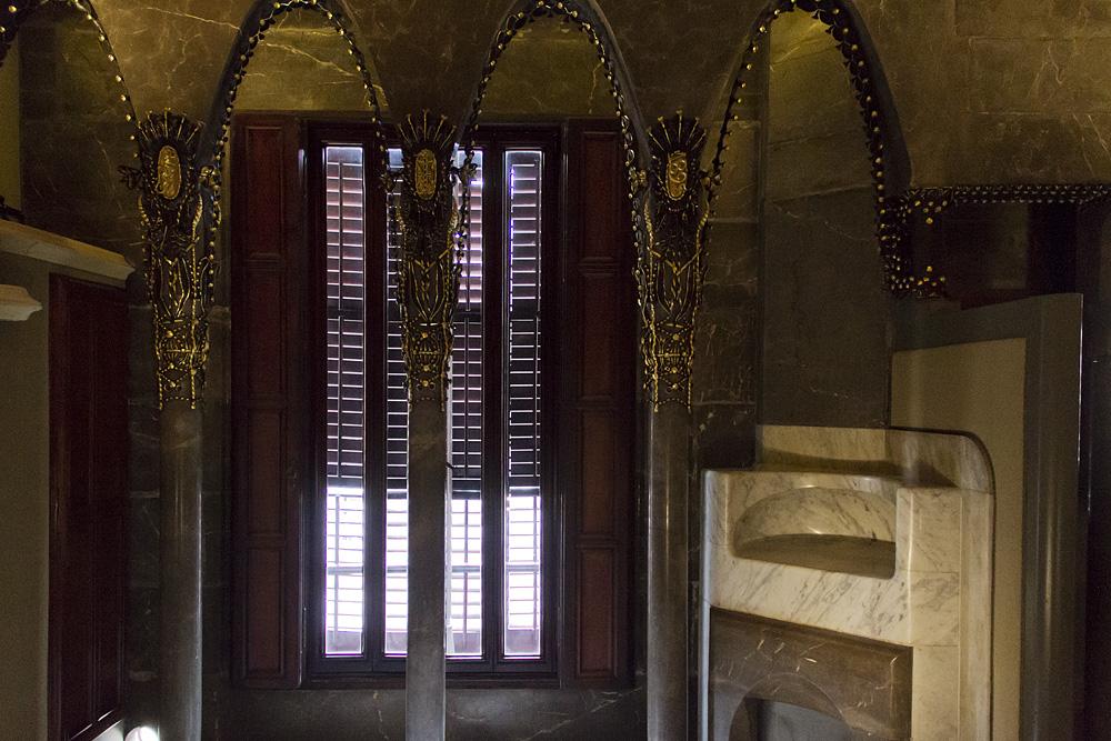 Barcelona, Palau Güell, Antoni Gaudi, Wohnung Isabel Güell