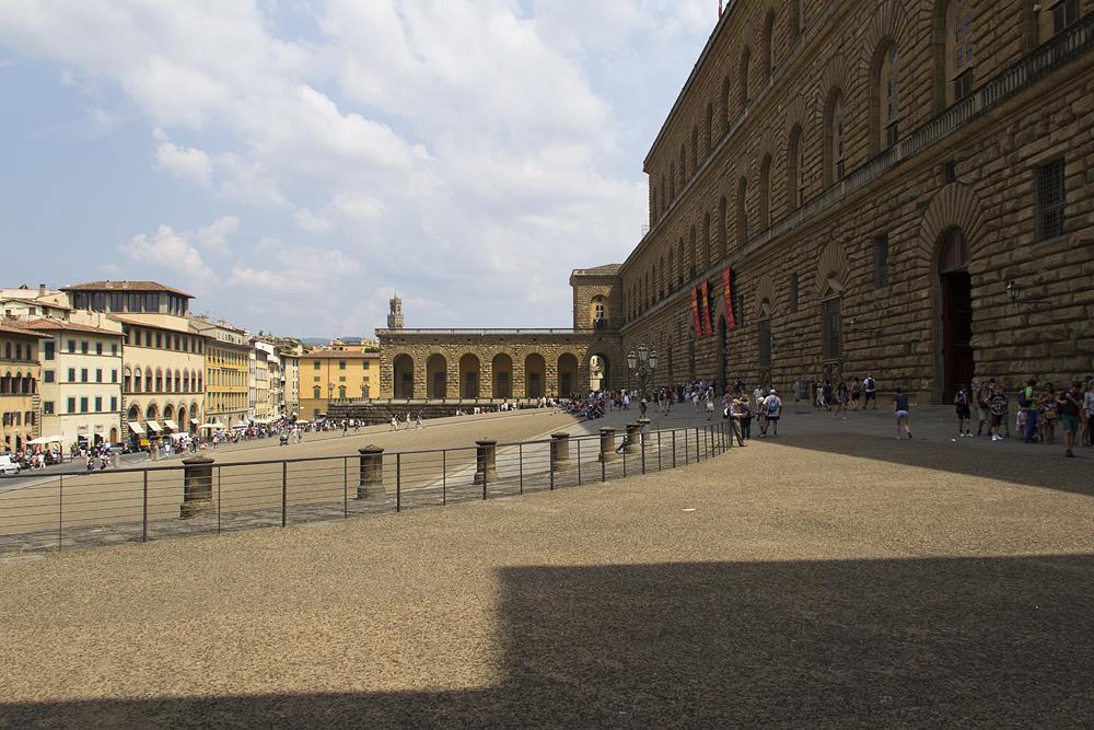Firenze, Piazza Pitti, Piazza