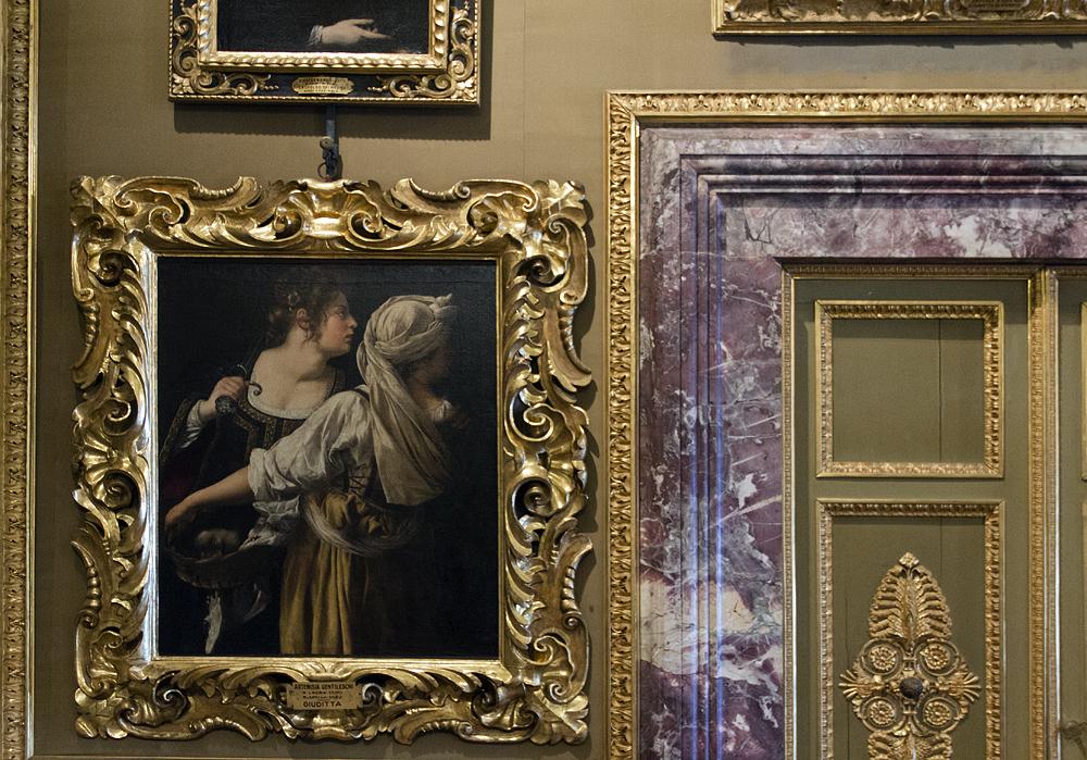 Palazzo Pitti, Galleria Palatina, Artemisia Gentileschi, Judith mit der Magd