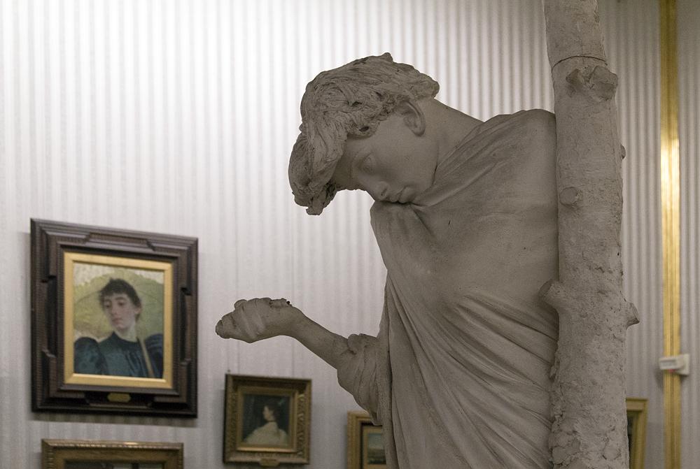 Palazzo Pitti, Galeria d'Arte Moderna, Adriana Cecioni, Il suicida