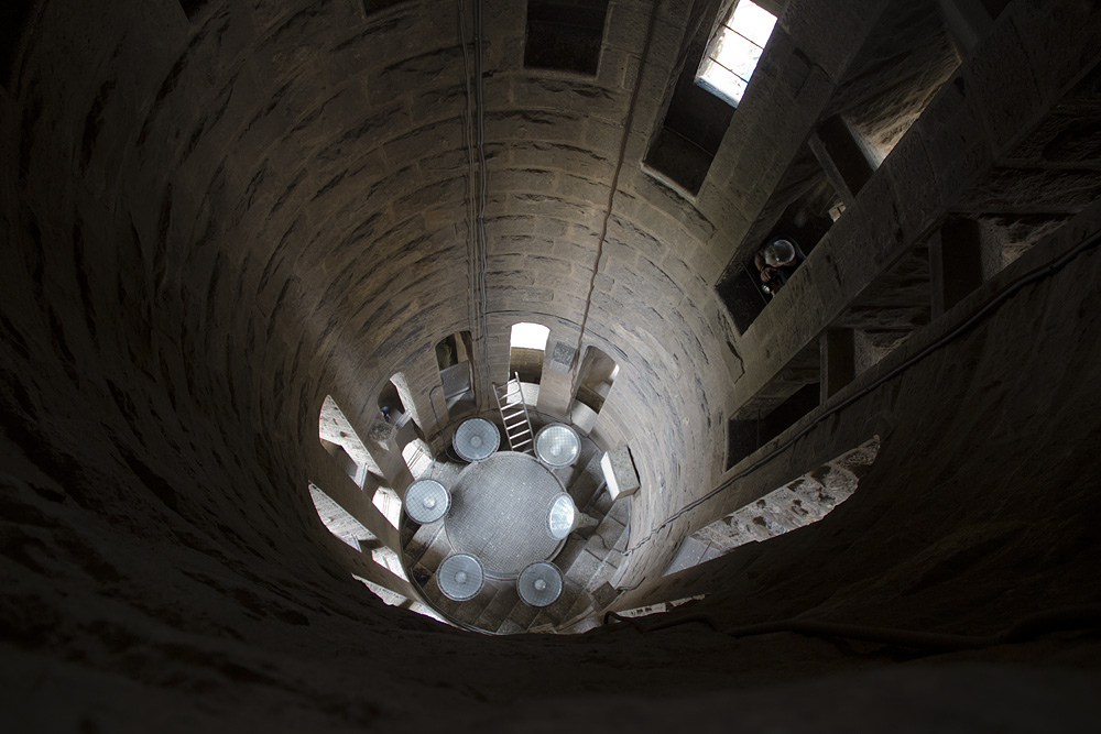 Barcelona, Sagrada Familia, Turminneres