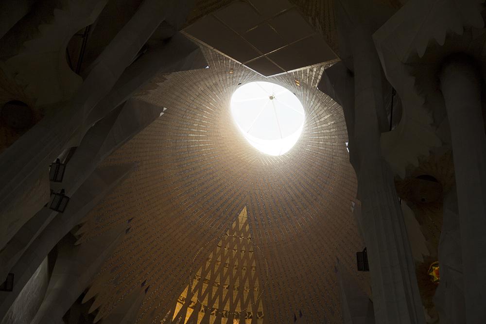 Barcelona, Sagrada Familia,Gaudi, Altarraum