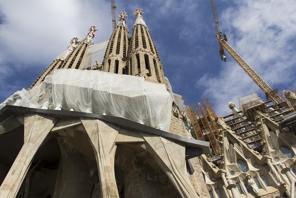 Barcelona, Sagrada Familia, Passionsfassade