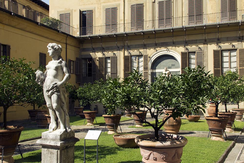 Florenz, Palazzo Medici Riccardi, Garten