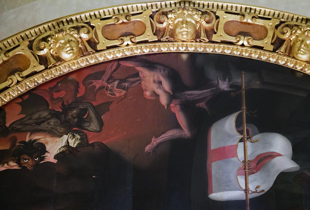 Florenz, Santa Croce, Capella della Noviziati