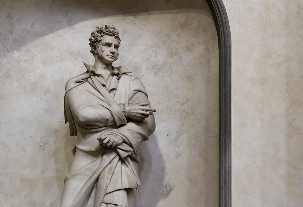 Florenz, Santa Croce, Ugo Foscolo