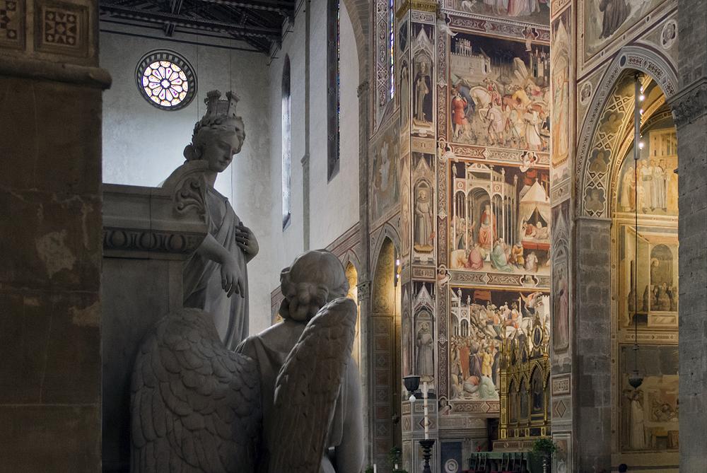 Florenz, Santa Croce, Hauptchorkapelle