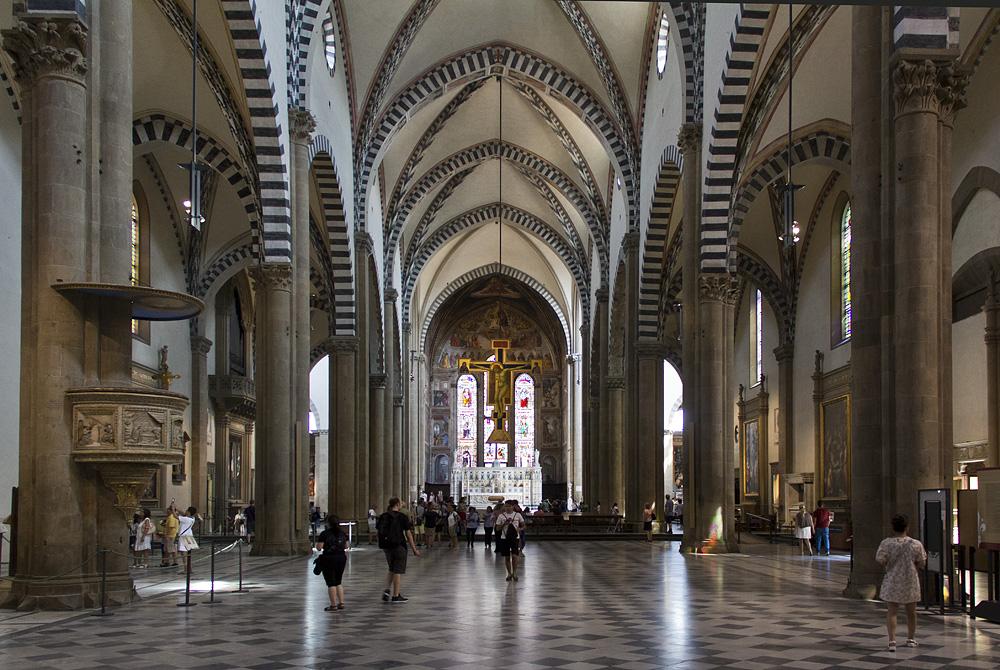 Firenze, Santa Maria Novella, Mittelschiff