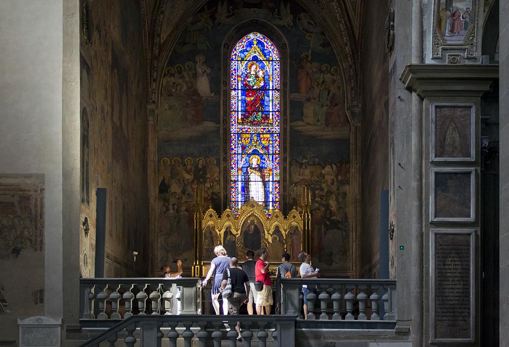 Firenze, Santa Maria Novella, Capella Strozzi di Mantova