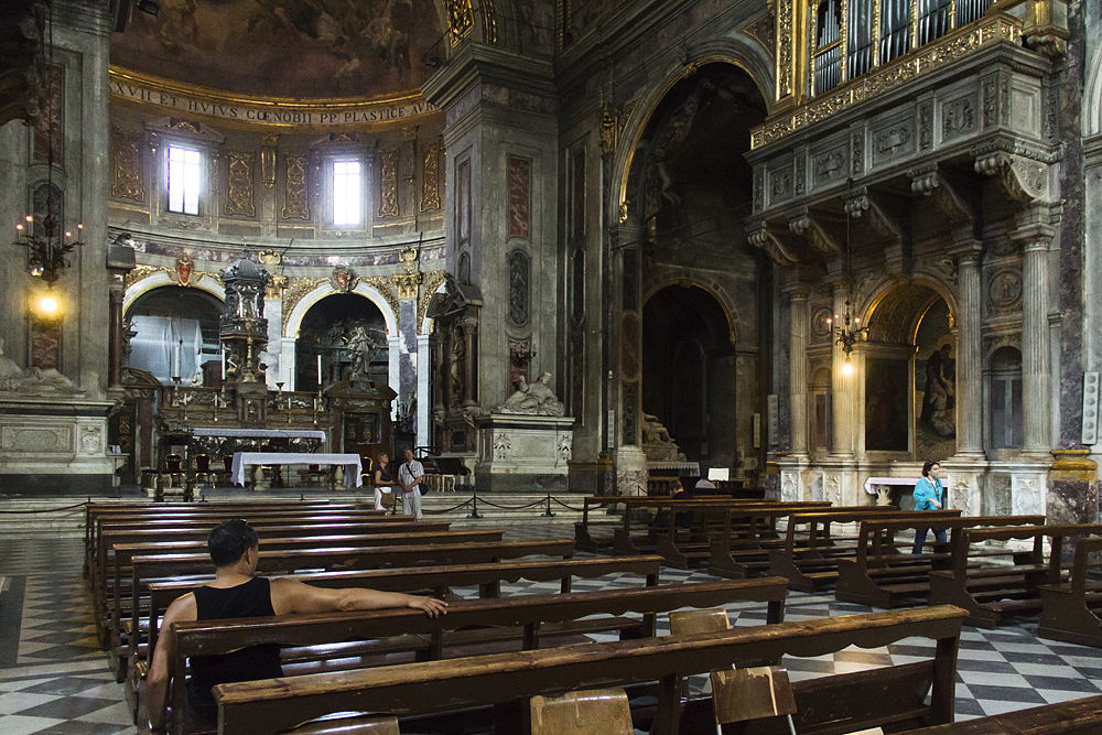 Florenz, Santissima Annunziata, Innenraum
