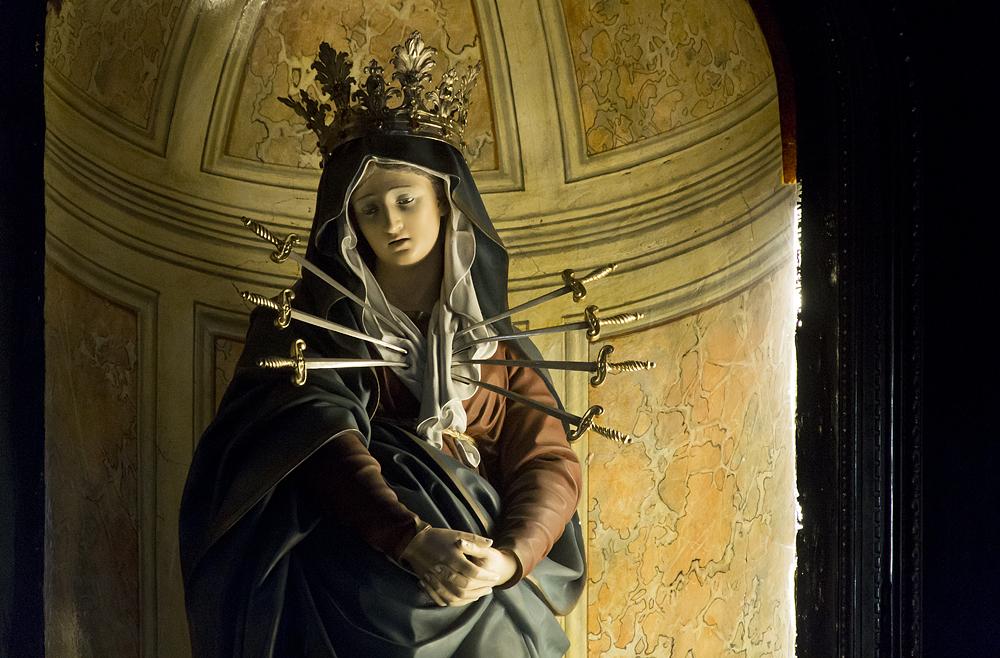 Florenz, Santissima Annunziata,Mater Dolorosa