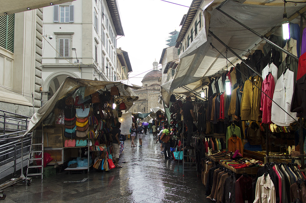 Firenze, Via dell'Ariente, Markt