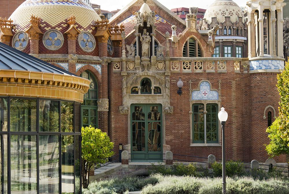 Barcelona, Hospital de la Santa Creu i Sant Pau, Pavelló de Nostra Senyora de la Mercè