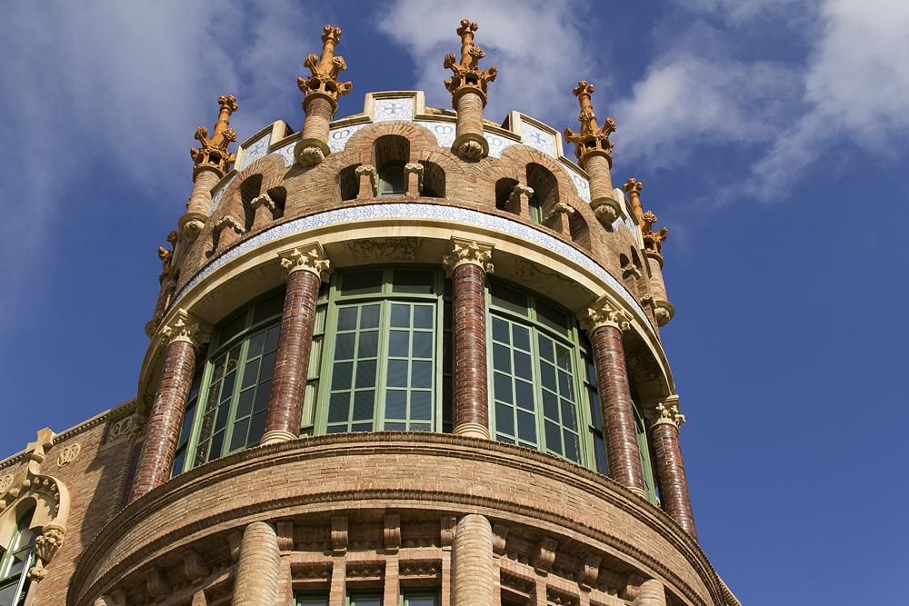 Barcelona, Hospital de la Santa Creu i Sant Pau, Pavellò de Sant Manuel
