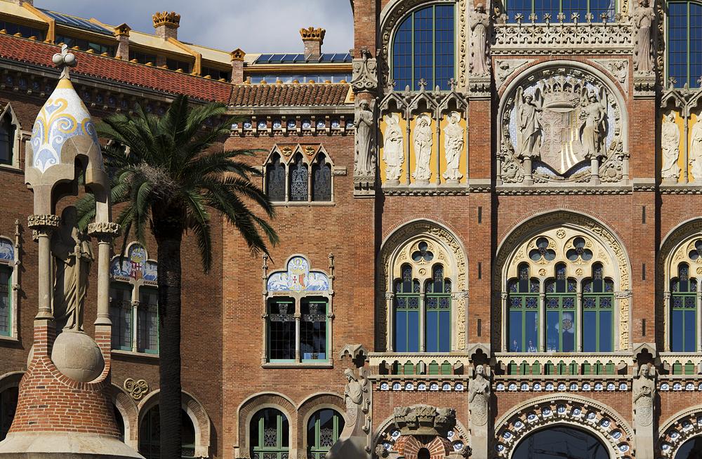 Barcelona, Hospital de la Santa Creu i Sant Pau, Administració