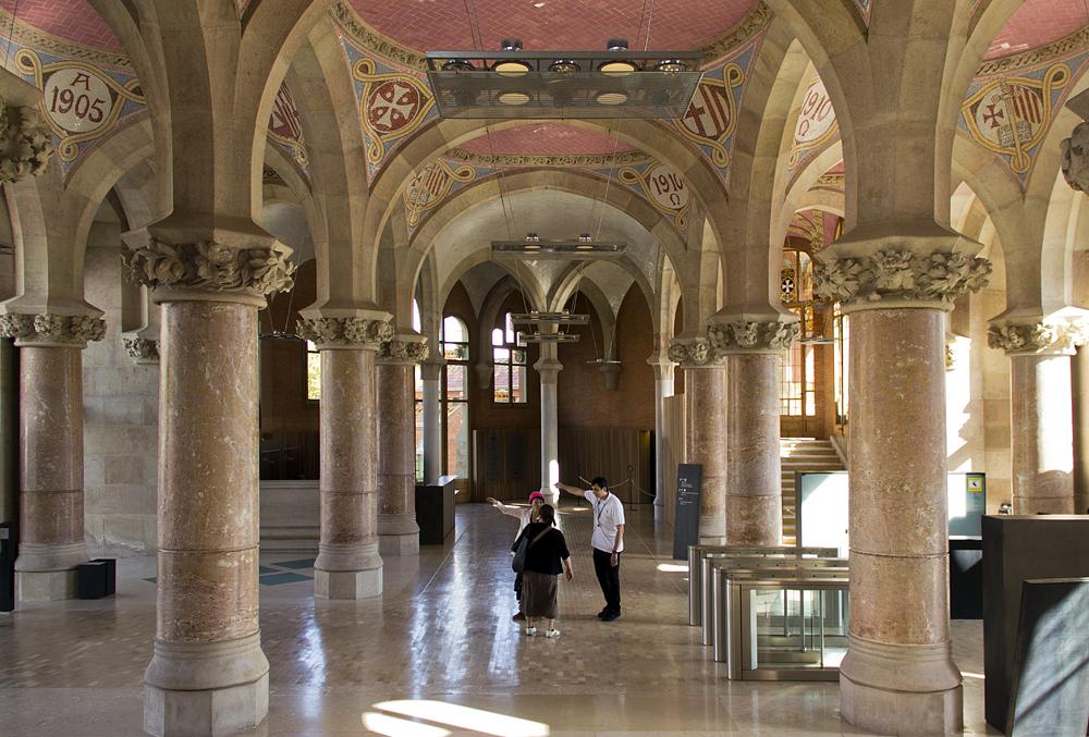 Barcelona, Hospital de la Santa Creu i Sant Pau, Administració,