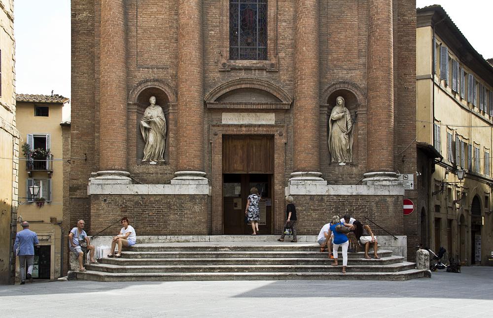 Siena, Chiesa di san Cristofero